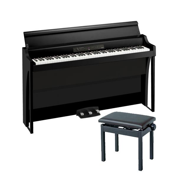 【高低自在イスセット】 Korg(コルグ) / G1B AIR-BK / ブラック / 88鍵盤 デジタルピアノ / 電子ピアノ 【11月29日発売】