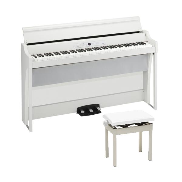 【高低自在イスセット】 Korg(コルグ) / G1B AIR-WH / ホワイト /  88鍵盤 デジタルピアノ / 電子ピアノ 【11月29日発売】
