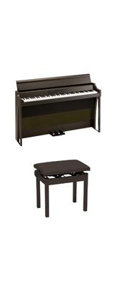 【高低自在イスセット】 Korg(コルグ) / G1B AIR-BR / ブラウン /  88鍵盤 デジタルピアノ / 電子ピアノ 2大特典セット