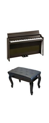 【猫足ベンチセット】 Korg(コルグ) / G1B AIR-BR / ブラウン /  88鍵盤 デジタルピアノ / 電子ピアノ 2大特典セット