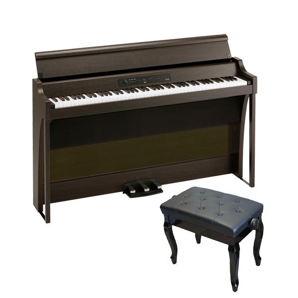 【猫足ベンチセット】 Korg(コルグ) / G1B AIR-BR / ブラウン /  88鍵盤 デジタルピアノ / 電子ピアノ 【12月上旬発売予定】