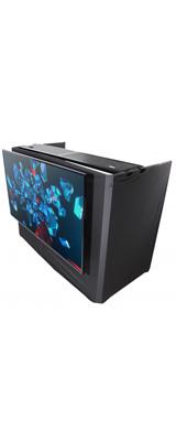 ■ご予約受付■ ProX / MESA MEDIA DJ Facade Table Workstation 【TVマウント、White & Blackテーブルカバー、キャリーバッグ付属】 DJテーブル