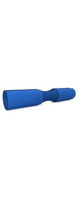Perfect Grip / スクワットバーベルパッド (BLUE) 固定ストラップ付き