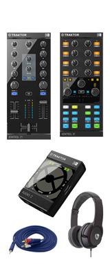 TRAKTOR KONTROL Z1&TRAKTOR KONTROL X1MK2&TRAKTOR Audio 2 MK2 セット / Native Instruments(ネイティブインストゥルメンツ)  2大特典セット