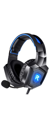 RUNMUS / Gaming Headset (BLUE) for PS4, Xbox One, PC ゲーミングヘッドホン