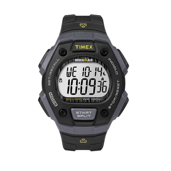 TIMEX(タイメックス) / TW5M09500 / Ironman / Classic 30ラップ / ブラック&グレー&ライム メンズ 腕時計