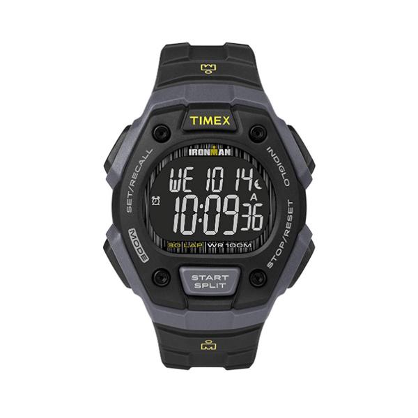 TIMEX(タイメックス) / TW5M18700 / Ironman / Classic 30ラップ / ブラック&グレー&ネガティブ  メンズ 腕時計