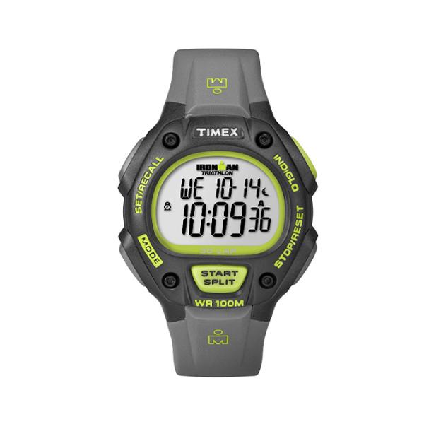 TIMEX(タイメックス) / T5K692 / Ironman / Classic 30ラップ グレー&グリーン / メンズ 腕時計