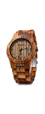 Bewell(ビーウェル) / Woo86 / メンズ 木製 腕時計