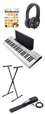 【オススメセット】 Roland(ローランド) / GO:PIANO with Alexa Built-in (GO-61P-A) - Alexa搭載 キーボード - 1大特典セット