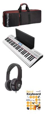 【スタートセット】 Roland(ローランド) / GO:PIANO with Alexa Built-in (GO-61P-A) - Alexa搭載 キーボード - 1大特典セット