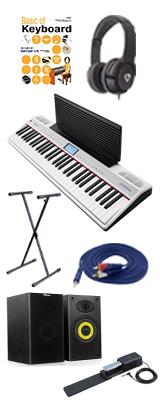 【モニターセット】 Roland(ローランド) / GO:PIANO with Alexa Built-in (GO-61P-A) - Alexa搭載 キーボード - 1大特典セット