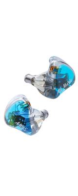iBasso Audio(アイバッソ オーディオ) / AM05 (BLUE) 5ドライバBA型MMCX対応イヤホン 1大特典セット