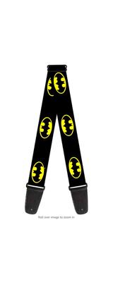 Buckle Down(バックルダウン) / Batman Shield バットマン 【MARVEL マーベル DCコミックス 公式ライセンス品】 ギターストラップ