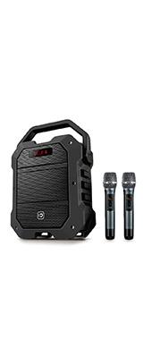 SHIDU(シードゥ) / K10 - 充電式 簡易PAシステム / ワイヤレスマイク2本付き - 《Bluetooth対応》
