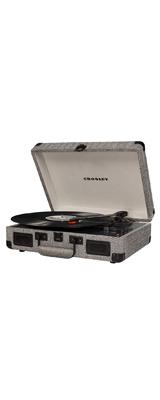 Crosley(クロスレイ) / CR8005D-HB / Cruiser Deluxe(Herringbone) / Bluetooth対応 ポータブル レコードプレイヤー