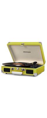 Crosley(クロスレイ) / CR8005D-GR / Cruiser Deluxe(Green) / Bluetooth対応 ポータブル レコードプレイヤー