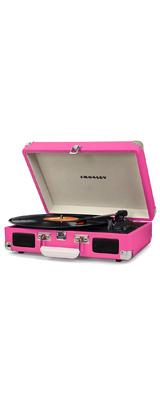 Crosley(クロスレイ) / CR8005D-PI / Cruiser Deluxe(Pink) / Bluetooth対応 ポータブル レコードプレイヤー