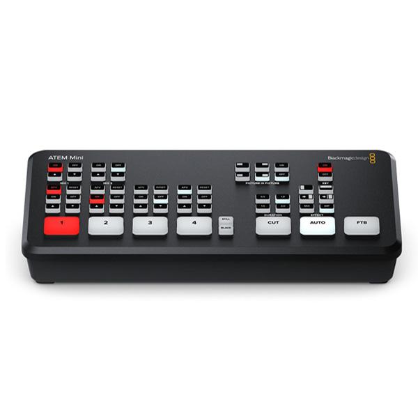 Blackmagic Design / ATEM Mini (SWA TEMMINI) / 配信 ビデオ スイッチャー ミキサー 【※納期お問い合わせください】