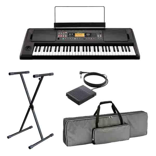 【スタンドセット】 Korg(コルグ) / EK-50 L / 61鍵盤 エンターテイナー・キーボード