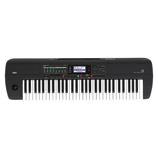 Korg(コルグ) / i3 MB (スーパー・マット・ブラック) 電池駆動可能 自動伴奏機能付き 61鍵盤 シンセサイザー・ワークステーション