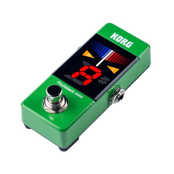 Korg(コルグ) / Pitchblack mini (グリーン) ペダル・チューナー