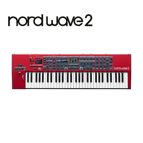 Clavia(クラヴィア) / Nord Wave 2 - パフォーマンス シンセサイザー -【発売時期・価格未定】