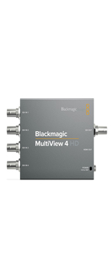 Blackmagic Design / MultiView 4 HD / モニタリング マルチビューア【メーカー3年保証】