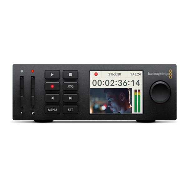Blackmagic Design / HyperDeck Studio Mini /  放送用デッキ D/UHS-II カードレコーダー