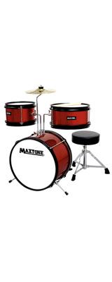 MAXTONE(マックストーン) / MX-60 RED (レッド) ジュニア・キッズ用 ドラムセット