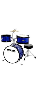 MAXTONE(マックストーン) / MX-60 BLU (ブルー) ジュニア・キッズ用 ドラムセット