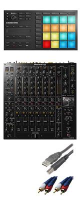 Pioneer DJ(パイオニア) / DJM-V10 & Native Instruments(ネイティブスンストゥルメンツ) MASCHINE MIKROセット  3大特典セット