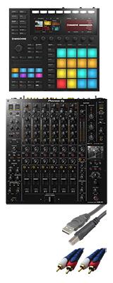 ■ご予約受付■ Pioneer DJ(パイオニア) / DJM-V10 & Native Instruments(ネイティブスンストゥルメンツ) MASCHINEセット 3大特典セット