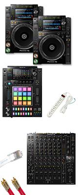 DJM-V10 / CDJ-2000NXS2 / DJS-1000 / プロフェッショナルセット 10大特典セット