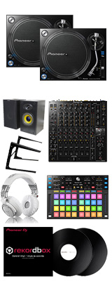 Pioneer DJ / PLX-1000 / DJM-V10 / DDJ-XP2 rekordbox dvsパーフェクトスタートセット 14大特典セット