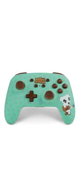 PowerA / animal crossing (とたけけ) / どうぶつの森 海外限定品 公式ライセンス品 / Nintendo Switch用  Bluetooth ゲーム コントローラー
