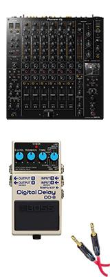 ■ご予約受付■ Pioneer(パイオニア) / DJM-V10 & Boss(ボス) / Digital Delay DD-8 セット  3大特典セット