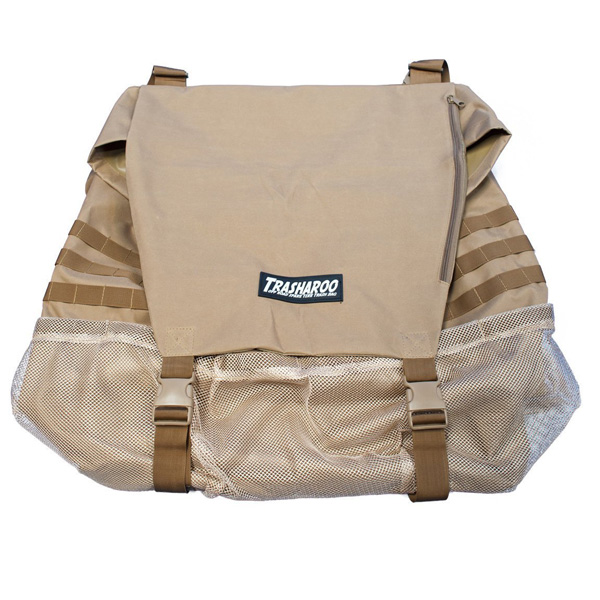 TRASHAROO / トラッシャルー スペアタイヤゴミ袋 (TAN)