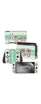 Controller Gear / animal crossing (つぶきち まめきち とたけけ) / あつまれ どうぶつの森 海外限定品 公式ライセンス品 / Nintendo Switch用 ドックスキン シール