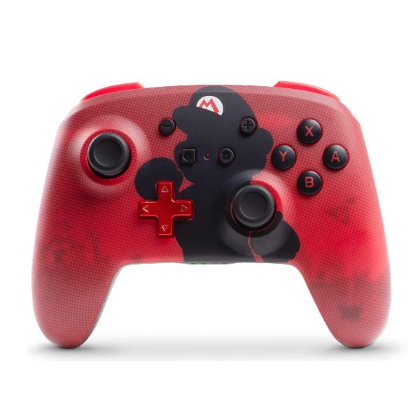 PowerA / Mario マリオ / 海外限定品 公式ライセンス品 / Nintendo Switch用  Bluetooth ゲーム コントローラー