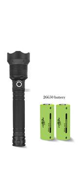 90000ルーメン XHP70.2強力なラッシュライト / 懐中電灯 ハンドライト 【本体+充電器+26650バッテリー】