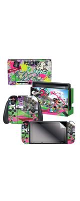 Controller Gear / Splatoon 2 (Sound The Alarm) 海外限定品 任天堂公式ライセンス品 / Nintendo Switch用 ドックスキン シール 【スプラトゥーン】