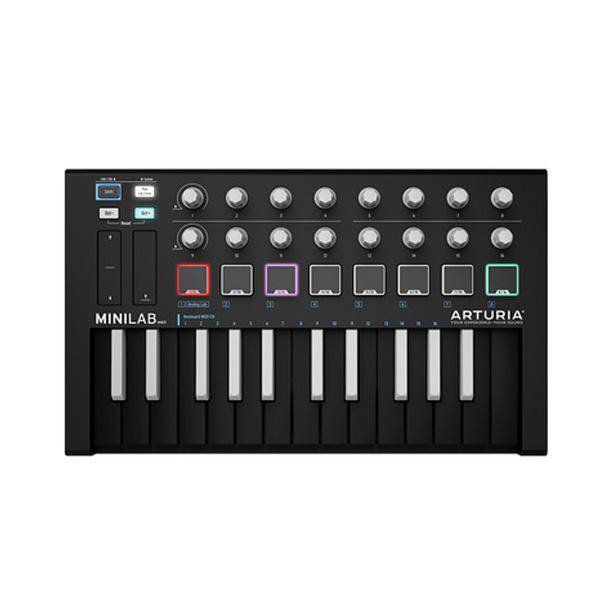 Arturia(アートリア) / MiniLab MKII INVERTED 数量限定カラー モデル / MIDIコントローラー 1大特典セット