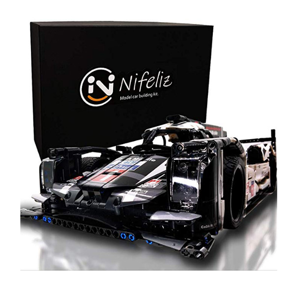 Nifeliz Sports Car 919 / MOCスポーツカー /スケール 1/9.5 1586ピース  / レーシングカー ブロック おもちゃ