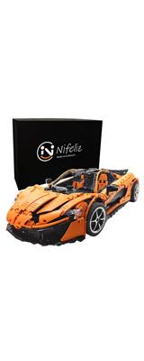 Nifeliz Sports Car P1 / MOCスポーツカー /スケール1:8 3307ピース  / レーシングカー ブロック おもちゃ