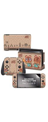 Controller Gear / animal crossing  (つぶきち まめきち) / あつまれ どうぶつの森 海外限定品 公式ライセンス品 / Nintendo Switch用 ドックスキン シール