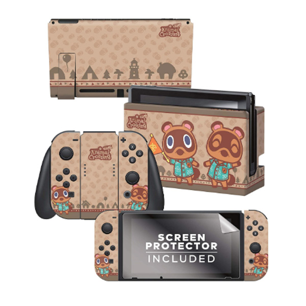 Controller Gear / animal crossing  (つぶきち まめきち) / あつまれ どうぶつの森 海外限定品 公式ライセンス品 / Nintendo Switch用 ドックスキン カバー