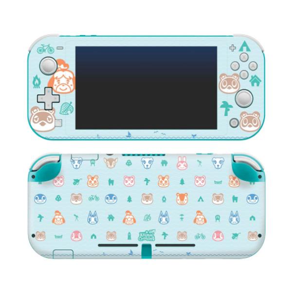 Controller Gear / animal crossing (しずえ・つぶきち・まめきち・たぬきち) / あつまれ どうぶつの森 海外限定品 公式ライセンス品 / Nintendo Switch Lite用 スキン カバー シール