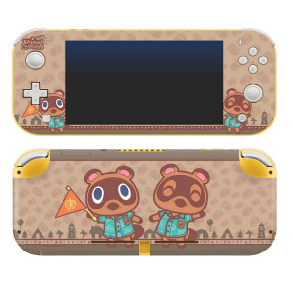 Controller Gear / animal crossing (つぶきち・まめきち) / あつまれ どうぶつの森 海外限定品 公式ライセンス品 / Nintendo Switch Lite用 スキン カバー シール