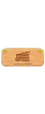 Controller Gear / animal crossing (シンプル 木目ロゴ) / あつまれ どうぶつの森 海外限定品 公式ライセンス品 / Nintendo Switch Lite用 スキン カバー シール